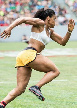 athlete Elisabeth Akin...